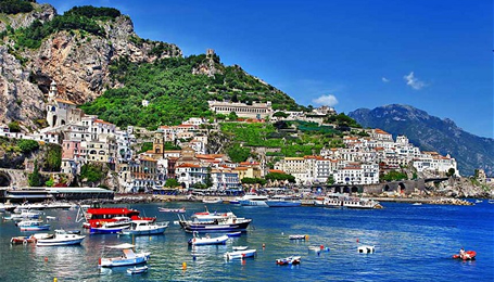 Tours of Italy-Amalfi Italy